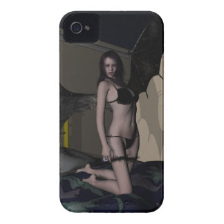 Valeria: Caja de Blackberry de la novia del Case-Mate iPhone 4 Protectores