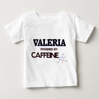 Valeria powered by caffeine tshirt