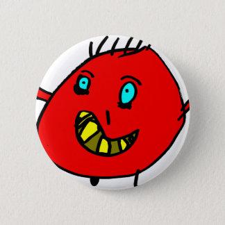 Valérian the nice monster - Axel City Pinback Button