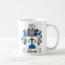 Valeriani Family Crest Mug