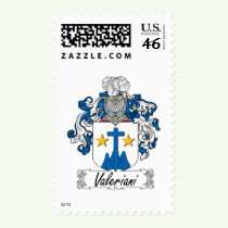Valeriani Family Crest Stamps