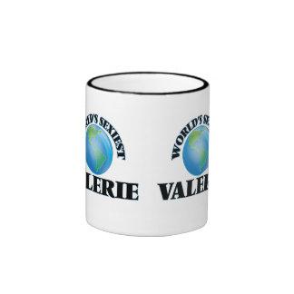 Valerie más atractivo del mundo taza de dos colores