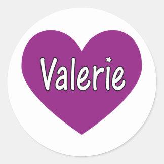 Valerie Etiqueta Redonda