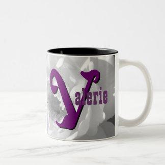 Valerie personalizó la taza conocida
