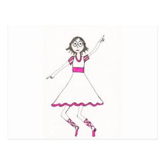 Valerie the Dancer Postcard