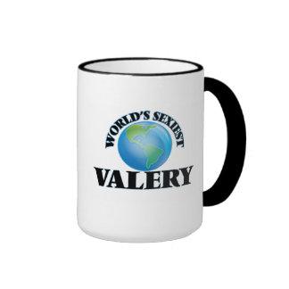 Valerio más atractivo del mundo taza de dos colores