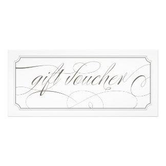 Vales elegantes grises franceses del regalo de la lona publicitaria