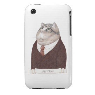 Valet Cat iPhone 3G/3Gs Case iPhone 3 Cover