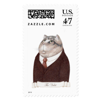 Valet Cat Large 1st Class 1oz Postage Stamps