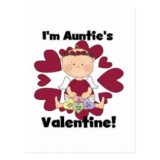 Valetine Tshirts y regalos del chica de tía Postal