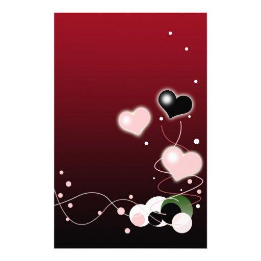 Valetines Day / Love Theme Stationery