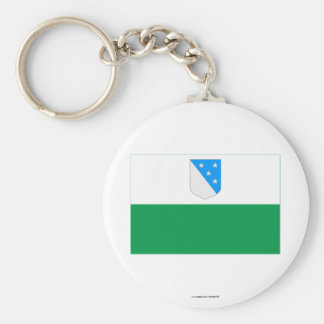 Valga Flag Basic Round Button Keychain