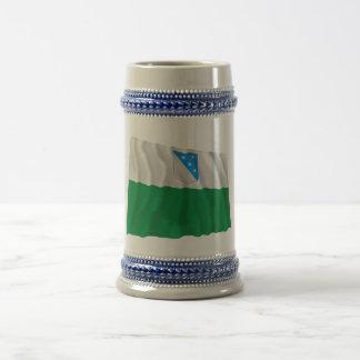 Valga Waving Flag Beer Stein