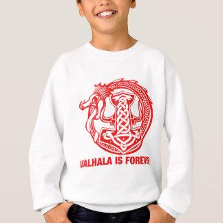 Valhalla es para siempre - orgullo de Viking Poleras