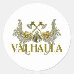 Valhalla Etiquetas Redondas