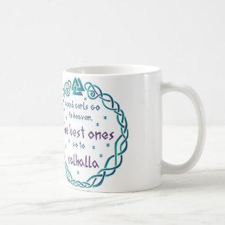 Valhalla girls coffee mug