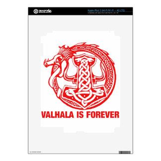 Valhalla Is Forever - Viking Pride iPad 3 Decals