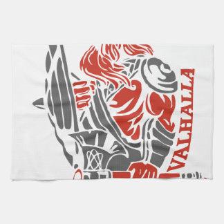 Valhalla - orgullo de Viking - diseño del escudo y Toalla De Mano