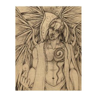 """Valhalla Rise"" Odin Pagan Wood Print"