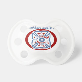 Valhalla Sees All - Viking Eye Pacifier