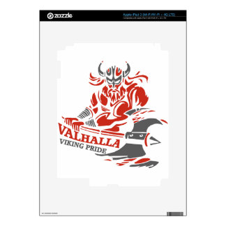 Valhalla - Viking Pride - War Armor Axe Design iPad 3 Decal