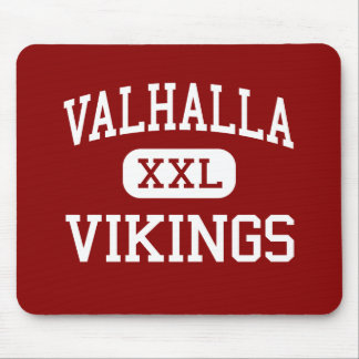 Valhalla - Vikingos - centro - Valhalla Nueva York Tapete De Raton