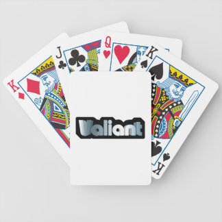 Valiant Bicycle Playing Cards