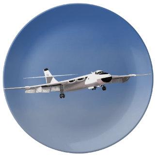 Valiant Bomber Wall Plate Porcelain Plates