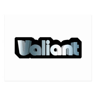 Valiant Postcard