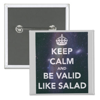 Valid like salad button pin