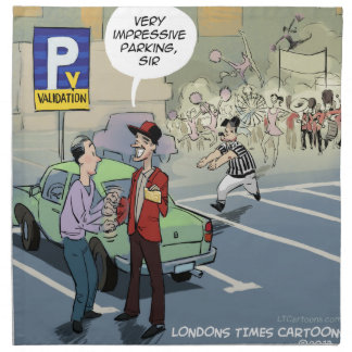 Validación por LTCartoons divertido Servilleta
