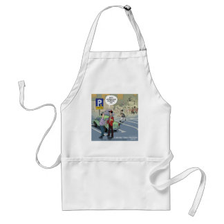 Validation by LTCartoons Funny Adult Apron