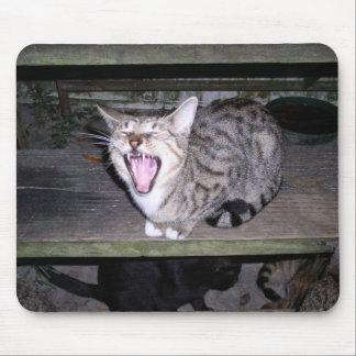 Valiente, bostezando tapete de ratones