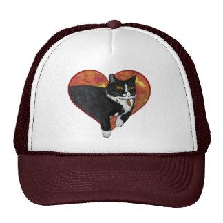 Valiente el gato gorras de camionero