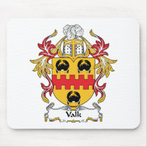 Valk Family Crest Mousepad