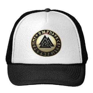 Valknut Rune Shield Trucker Hat