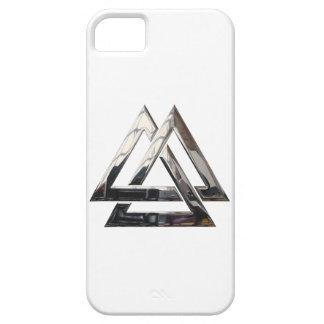 Valknut - Silver iPhone SE/5/5s Case