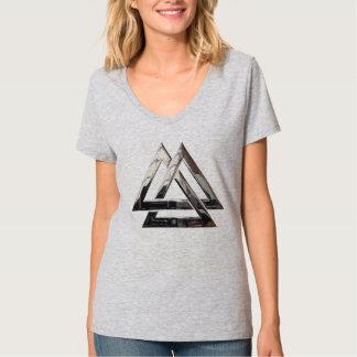 Valknut - Silver T-Shirt