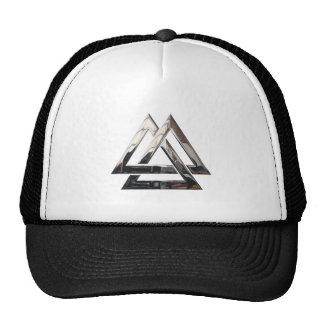 Valknut - Silver Trucker Hat