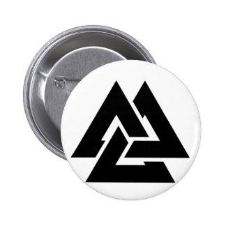 Valknut Symbol triquetra Pins