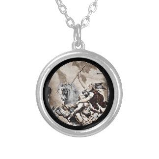 Valkyrie Carrying Hero to Valhalla Custom Jewelry