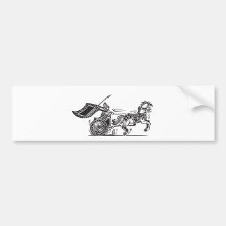 Valkyrie Chariot Bumper Sticker