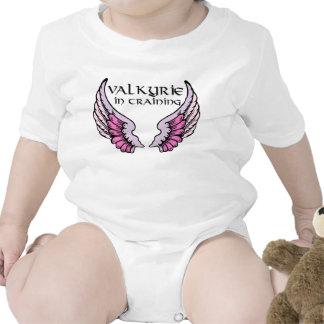 Valkyrie in Training pink Baby Bodysuit