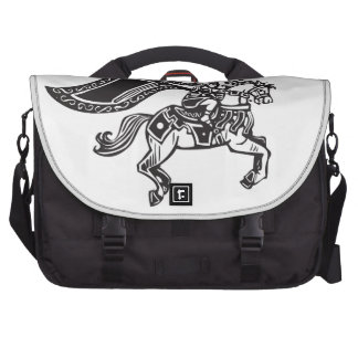 Valkyrie on Horse Laptop Bags