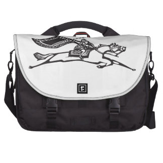 Valkyrie on Horse Laptop Commuter Bag