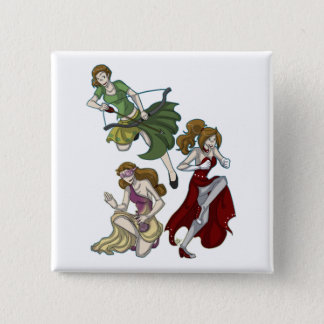 Valkyrie Sisters Button