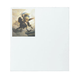 Valkyrie with Shield on Horseback Notepad