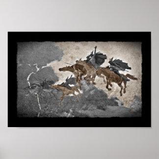 Valkyries en la tormenta póster