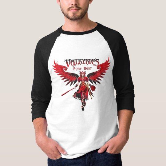 Valkyries Raglan Black T-Shirt