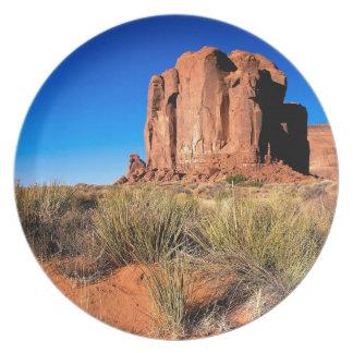 Valle Arizona del monumento de los desiertos Plato De Cena